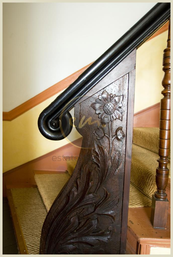 Detail: Treppenhaus