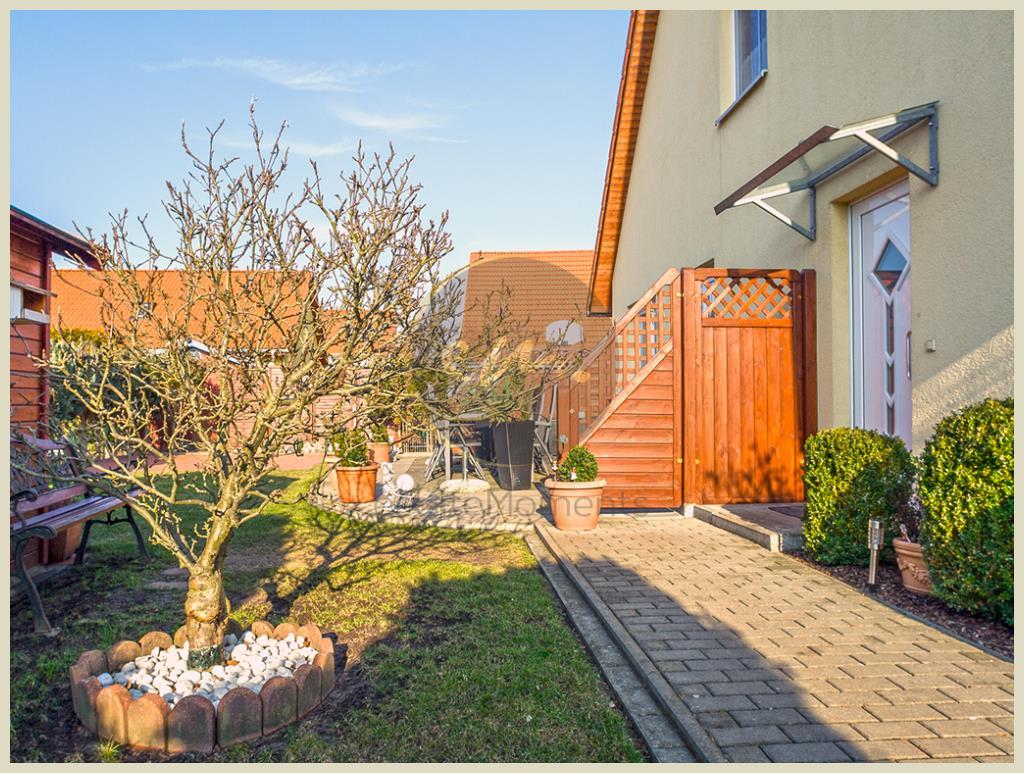 Dallgow-Döberitz - Neubau-Doppelhaushälfte, Spielstraße, ruhige Lage, Terrasse mit Westausrichtung