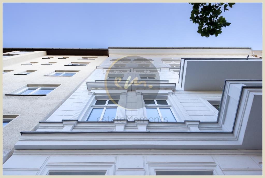 Berlin - Schöne Altbauwohnung in Berlin-Moabit: Balkon mit Nordostausrichtung, attraktive Grundrissgestaltung
