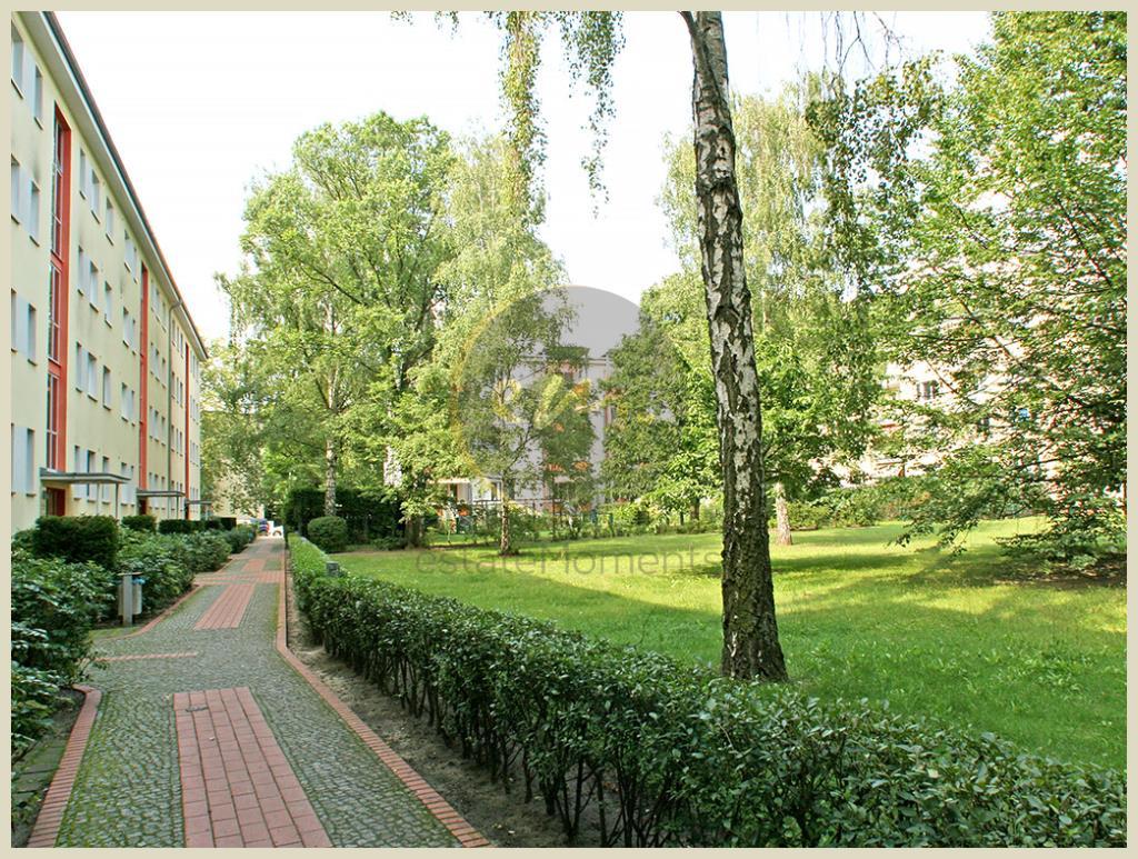 Berlin - Berlin-Haselhorst: Ruhig gelegene Etagenwohnung, Balkon zum Gemeinschaftsgarten