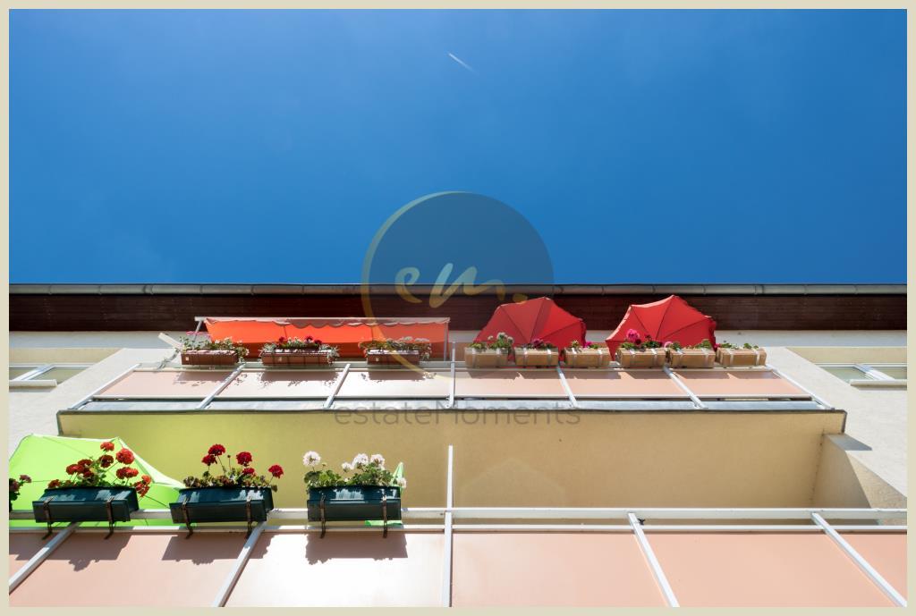 Werder - Hochparterre in Werder (Havel): Balkon mit Südwestausrichtung